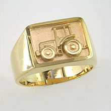 Farm Tractor Ring