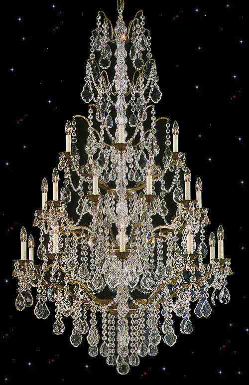 Bordeau Crystal Chandeliers
