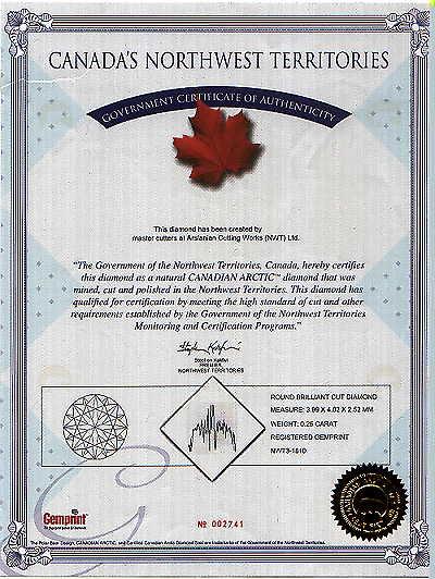 Certificate of authenticity coa certificate of for Diamond certificate of authenticity template