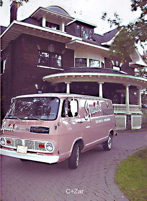 1967 GMC Handivan from Squitti's of Thunder Bay, Canada.