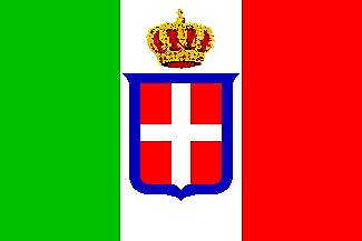 Italian Flag - House of Savoy