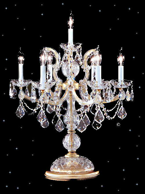 Table Lamps  Crystals on Strass Crystal Table Lamps   Squitti S