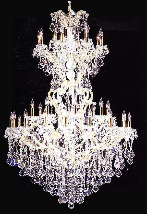 Maria Theresa Chandelier in Strass Crystal