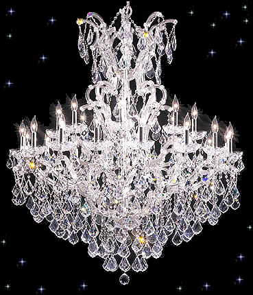 16 LIGHT SWAROVSKI MARIA THERESA CRYSTAL CHANDELIER items in