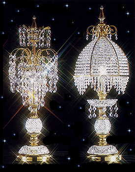 Strass Crystal Table Lamps @ Squittiu0027s. U0027