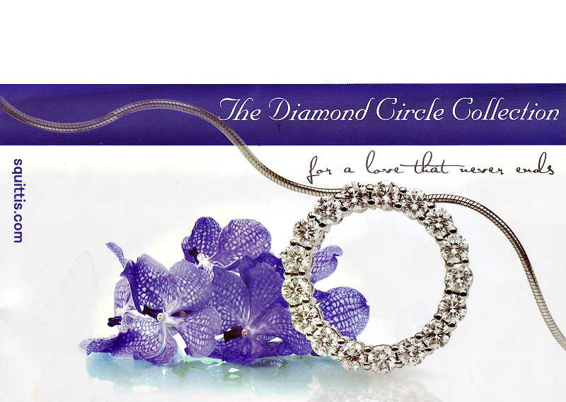 diamond_circle_pendant set